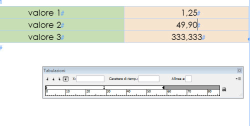 tab_decimali2, allineare