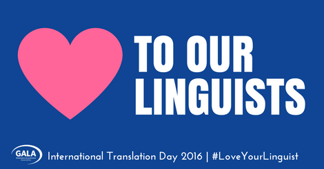 #LoveYourLinguist