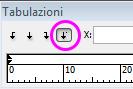 tab_decimali, allineare